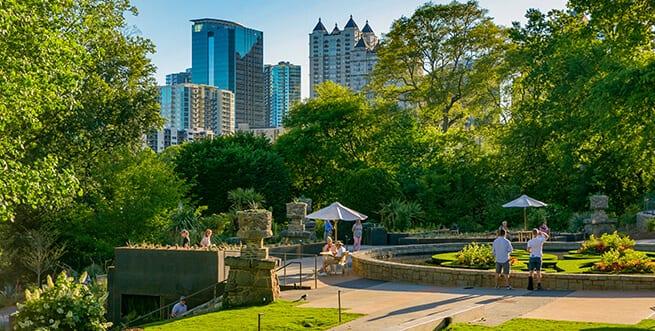 Atlanta botanical garden skyline garden - Atlanta botanical garden membership ...
